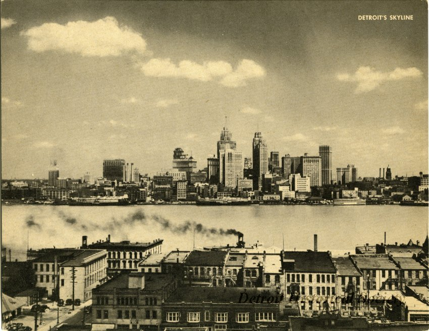 Detroit's Skyline c. 1940